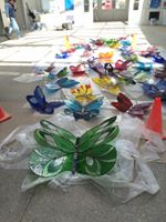 Butterfly installation day