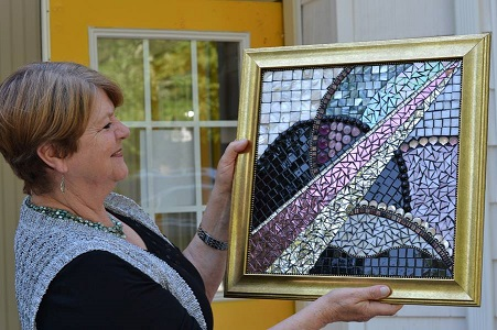 Luise, Glass Mosaic